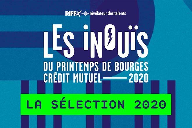 Les iNOUïS 2020 du Printemps de Bourges Crédit Mutuel !